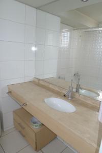 Un baño de Chilean Suites Providencia