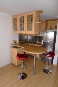 Una cocina o zona de cocina en Chilean Suites Providencia