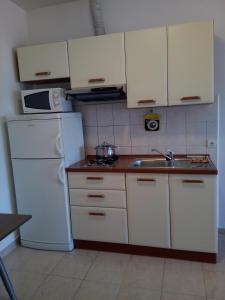 Kuchyňa alebo kuchynka v ubytovaní APARTMAN ADRIATIC