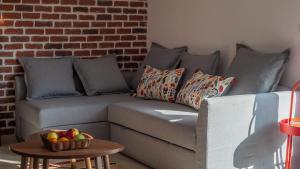Letto o letti in una camera di Steel Residence