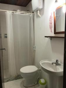 Łazienka w obiekcie Cesar Apartamentos