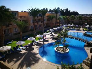 A view of the pool at Pagona Holiday Apartments or nearby