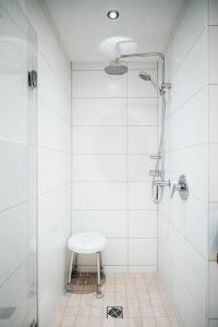 Ein Badezimmer in der Unterkunft Ferienwohnung Stadtplatz 25