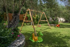 Ο χώρος παιχνιδιού για παιδιά στο Linea