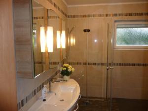 Koupelna v ubytování Ferienwohnung Bröske