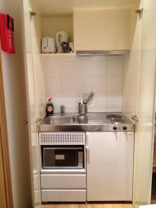 Una cocina o zona de cocina en 274 Suites