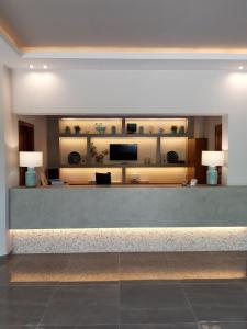 The lobby or reception area at Asteris Village