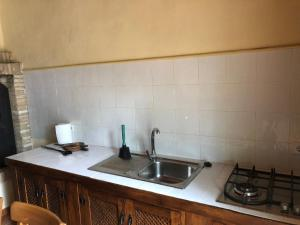 A kitchen or kitchenette at FINCA EL PARAISO - MULA