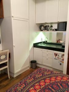 Dapur atau dapur kecil di Studio Rio Beira Mar