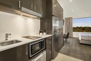 A kitchen or kitchenette at Quest Kings Park