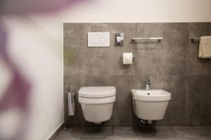 A bathroom at Residence Rösch