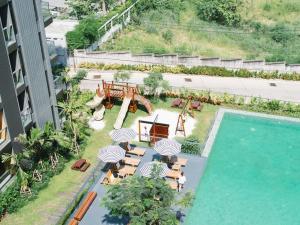 วิว Balcony Seaside Sriracha Hotel & Serviced Apartments จากมุมสูง