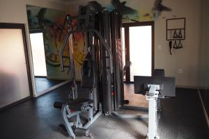 The fitness center and/or fitness facilities at The Willows at OR Tambo