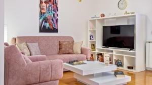 Posedenie v ubytovaní Central Apartment Smiley - FREE PARKING
