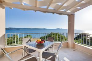 A balcony or terrace at Villa Diana