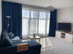 Телевизор и/или развлекательный центр в Jõe Apartments