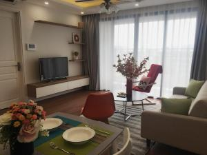 2BR, 2 Baths w Balcony in New Complex Building D'Le Roi Soleil, Westlake, Hanoi