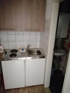 A kitchen or kitchenette at Apartmani Roko