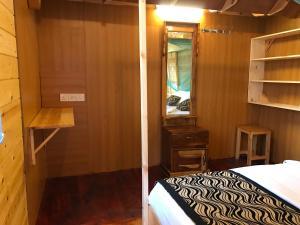 Krevet ili kreveti u jedinici u objektu Sasvi Cabana