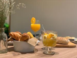 As opções de pequeno-almoço disponíveis para os hóspedes de Spot Apartments Trindade