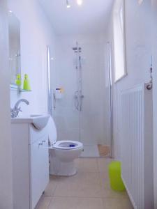 A bathroom at La Lodelinsartoise - Meublé de vacances 3 clés