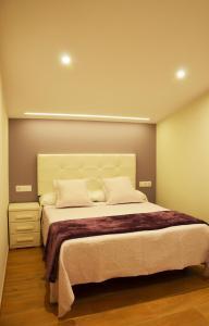 Cama o camas de una habitación en Cardona Fira