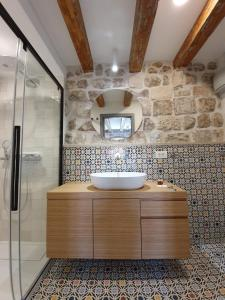 A bathroom at Villa Monte Santo