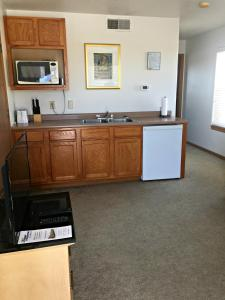 A kitchen or kitchenette at Nauvoo Vacation Condos and Villas