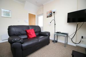 A seating area at Afan Valley Escapes, Valley Views, The Nook, Sleeps 6