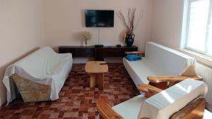A television and/or entertainment center at Plitvice Guesthouse Ella
