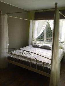 Gulta vai gultas numurā naktsmītnē Family apartament