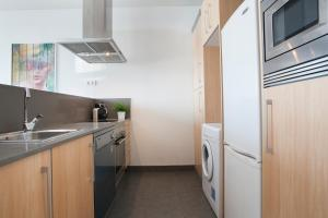 A kitchen or kitchenette at Tendency Apartments 3