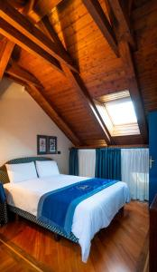 A bed or beds in a room at Residence Jecna