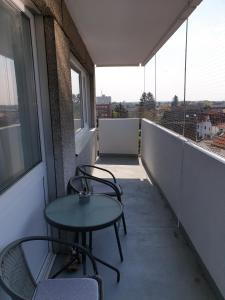 A balcony or terrace at Apartment Langen