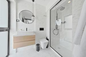 Um banheiro em Innapartments Pop Saldanha