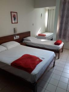 A bed or beds in a room at CTC Araras