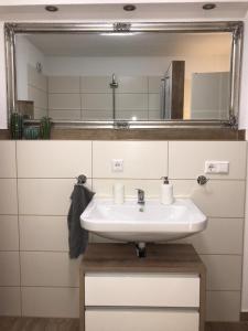 A bathroom at Hochfeld