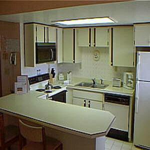 A kitchen or kitchenette at Florida Vacation Villas