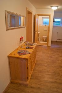 A bathroom at Apartment Sonnbichl
