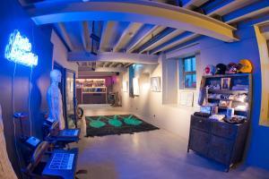The lobby or reception area at Raw Culture Art & Lofts Bairro Alto