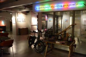 The fitness center and/or fitness facilities at Raw Culture Art & Lofts Bairro Alto