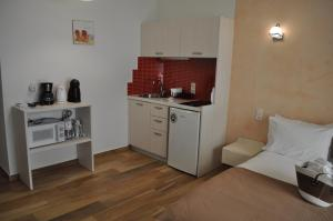 A kitchen or kitchenette at Studios Yalos
