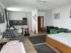 Posezení v ubytování Sport Apartment