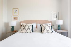 Ein Bett oder Betten in einem Zimmer der Unterkunft Selton Plaza España