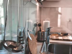 Küche/Küchenzeile in der Unterkunft luxury apartment in town
