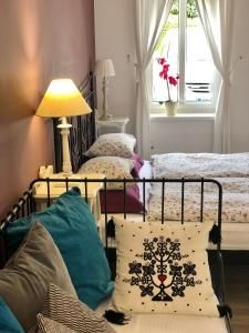 A bed or beds in a room at Vila Sol