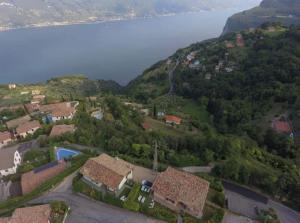 A bird's-eye view of Casa Mezzema