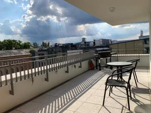 Semmelweis Panoramic Luxury Apartment 604陽台或露臺