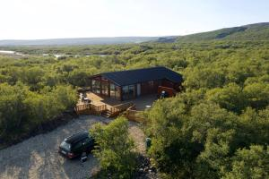 A bird's-eye view of Harpa Holiday Home