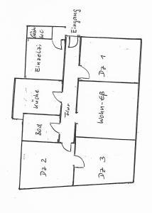 The floor plan of Cityblick 2